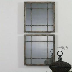 Uttermost 'Saragano' Square Mirror, Size One Size - Grey