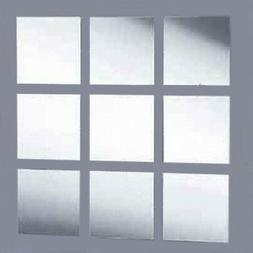 Square Mosaic Tiles Acrylic Mirror  for Crafting