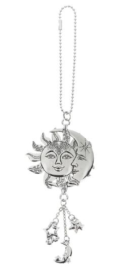 SUN and MOON Ganz Car Charm with Dangle Charms & Chain for R