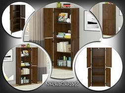 Tall Storage Cabinet Kitchen Cupboard Pantry Food Storage Or