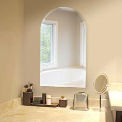 Brayden Studio Titcomb Frameless Arched Wall Mirror