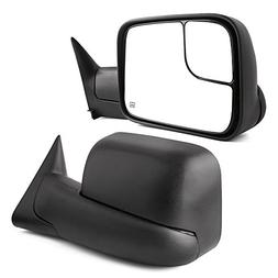 Towing Mirrors for Dodge Ram, YITAMOTOR Power Heated Manual