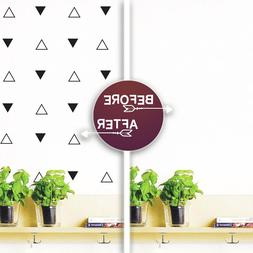 triangles wall decoration 70 pack vinyl decals