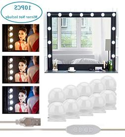 Vanity Mirror Lights Hollywood Style LED Lights for Mirror,