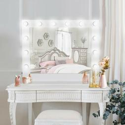 Vanity Mirror With Lights - Hollywood Style Makeup Mirror wi