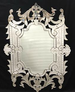 Venetian Designer Rectangle Mirror for living Room 36x48 inc