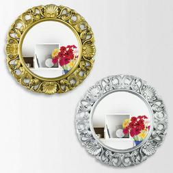 wall mirror industrial style rectangle aged look