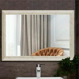 Wall Mirror Large Mounted Makeup Rectangular for Bathroom Li