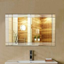 "36"" Wall Mirror Rectangle Vanity Bathroom Home Furniture Bat"