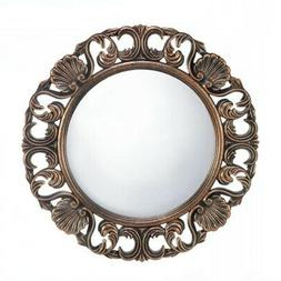 Wall Mirror, Wooden Bathroom Mirrors For Wall, Unique Heirlo