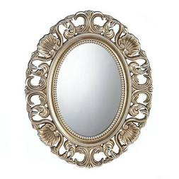 Wall Mirrors For Girls, Gold Framed Round Wall Mirrors Decor