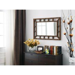 Wall Mirrors For Living Room Bath Bedroom Bamboo Style Cotta